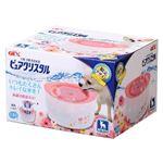 ジェックス ピュアクリスタル超小型犬用ガーリーピンク 【ペット用品】