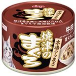 (まとめ)アイシア 焼津のまぐろ牛肉入り70g 【猫用・フード】【ペット用品】【×48セット】