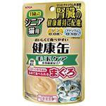 (まとめ)アイシア 健康缶パウチ 食物繊維プラス 40g 【猫用・フード】【ペット用品】【×48セット】