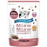 (まとめ)アイシア MiawMiawカリカリ小粒ささみ580g 【猫用・フード】【ペット用品】【×12セット】