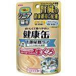(まとめ)アイシア シニア猫用 健康缶パウチ下部尿路ケア 40g 【猫用・フード】【ペット用品】【×48セット】