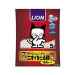 (まとめ)ニオイをとる砂7歳以上用鉱物タイプ 5L 【ペット用品】【×4セット】