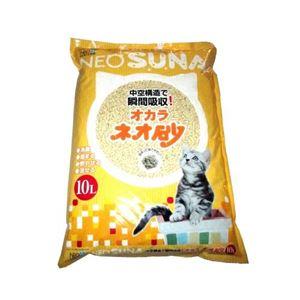 (まとめ)ネオ砂オカラ10L 【ペット用品】【×5セット】