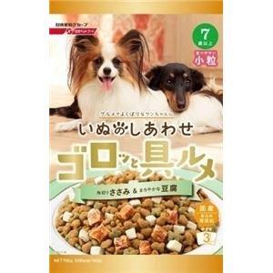 (まとめ)日清ペットフードゴロッと具ルメ小粒7歳豆腐750g【犬用・フード】【ペット用品】【×12セット】