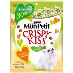 (まとめ)Mクリスピーキッス贅沢チキン味90g【猫用フード】【ペット用品】【×15セット】