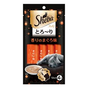 (まとめ)SMT20シーバメルティ香りのまぐろ味×4P【猫用フード】【ペット用品】【×48セット】