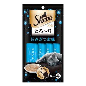 (まとめ)SMT21シーバメルティ旨みがつお味×4P【猫用フード】【ペット用品】【×48セット】