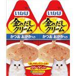(まとめ) いなばペットフード 金のだしクリームかつおおかか60gIC-82 【猫用・フード】 【ペット用品】 【×48セット】