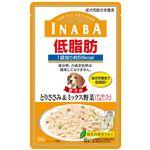 (まとめ) いなばペットフード イナバ低脂肪パウチささみ&ミックス野菜80g 【犬用・フード】 【ペット用品】 【×48セット】
