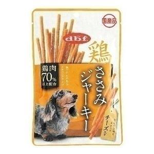 (まとめ) デビフペット 鶏ささみジャーキー チーズ入り80g 【犬用・フード】 【ペット用品】 【×48セット】