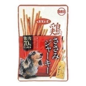 (まとめ) デビフペット 鶏ささみジャーキー プレーン80g 【犬用・フード】 【ペット用品】 【×48セット】