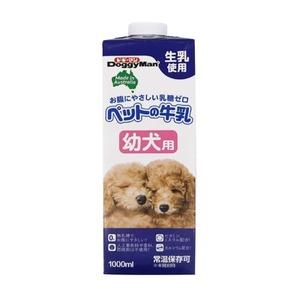 (まとめ) ドギーマンハヤシ ペットの牛乳 幼犬用 1000ml 【犬用・フード】 【ペット用品】 【×12セット】