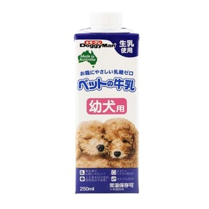 (まとめ) ドギーマンハヤシ ペットの牛乳 幼犬用 250ml 【犬用・フード】 【ペット用品】 【×24セット】