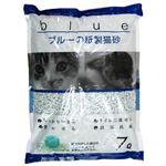 (まとめ) ペットプロ KPG ブルーの紙砂 7L 【ペット用品】 【×7セット】