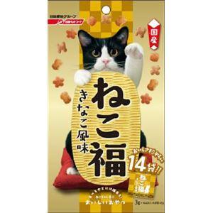 (まとめ) 日清ペットフード ねこ福 きな粉風味 42g 【猫用・フード】 【ペット用品】 【×30セット】