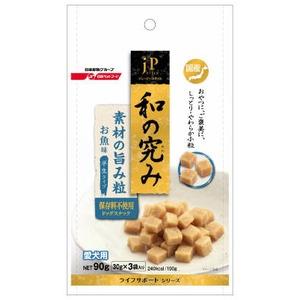 (まとめ) 日清ペットフード JP和の究み 素材の旨味粒 お魚味90g 【犬用・フード】 【ペット用品】 【×32セット】