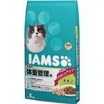 マースジャパンリミテッド アイムス 成猫体重管理チキン5kg 【ペット用品】