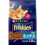 (まとめ)ネスレ フリスキードライ お魚ミックス 1.8Kg (猫用・フード)【ペット用品】【×6 セット】
