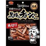 (まとめ)日本ペットフード ビタワン君黒豚入りチャーシュー角切り 80g (ドッグフード)【ペット用品】【×30 セット】