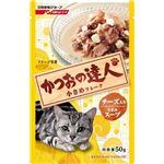 (まとめ)日清ペットフード かつお達人R TP12チーズ50g (猫用・フード)【ペット用品】【×48 セット】