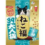(まとめ)日清ペットフード ねこ福 39大入り あじ 117g (猫用・フード)【ペット用品】【×12 セット】