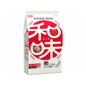(まとめ)アース・バイオケミカル 和味 鰹だしの香るみそ汁風味 480g (猫用・フード)【ペット用品】【×12 セット】