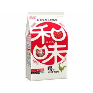 (まとめ)アース・バイオケミカル 和味 鶏の照り焼き風味 480g (猫用・フード)【ペット用品】【×12 セット】