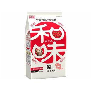 (まとめ)アース・バイオケミカル 和味 鯛のうま煮風味 480g (猫用・フード)【ペット用品】【×12 セット】