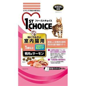 (まとめ)アース・バイオケミカル FC成猫室内猫 鴨肉&サーモン530g (猫用・フード)【ペット用品】【×12 セット】