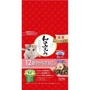 (まとめ)ジェーピースタイル 和の究み 12ヶ月まで 健やかな子ねこ用 700g【×12セット】【ペット用品・猫用フード】