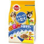 (まとめ)ペディグリー それいけ!小型犬 体重管理用 チキン入り 2kg【×6セット】【ペット用品・犬用フード】