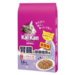 (まとめ)カルカン ドライ 腎臓の健康維持用 お魚ミックス まぐろとかつお味 1.6kg【×6セット】【ペット用品・猫用フード】