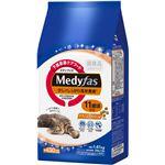 (まとめ)メディファス 少しでしっかり高栄養食 11歳頃から チキン&フィッシュ味 1.41kg【×6セット】【ペット用品・猫用フード】