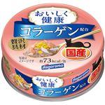 (まとめ)はごろも おいしく健康 コラーゲン配合 70g【×24セット】【ペット用品・猫用フード】
