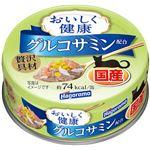 (まとめ)はごろも おいしく健康 グルコサミン配合 70g【×24セット】【ペット用品・猫用フード】