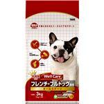(まとめ)ウェルケア フレンチ・ブルドッグ専用 オールステージ 3kg【×4セット】【ペット用品・犬用フード】