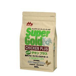 (まとめ)スーパーゴールド チキンプラス シニア犬用 800g【×12セット】【ペット用品・犬用フード】