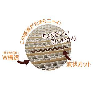にゃんこのしっぽ爪とぎ スリム ゴールド【ペット用品・猫用】