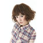 前髪ウィッグ MA-4 ブラウン(耐熱)