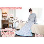 NuKME(ヌックミィ) 2011年Ver 男女兼用フリーサイズ(180cm) スノー柄 グレー
