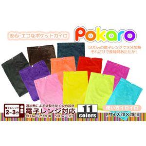 電子レンジ対応 エコカイロ POKARO(ポカロ) Lサイズ ローズピンク - 拡大画像