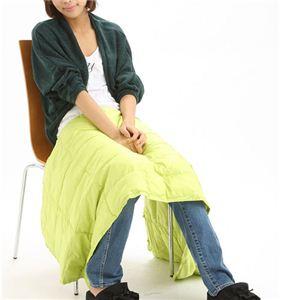 携帯する羽毛布団 U-MO(ウーモ) 3WAYポンチョ グリーン