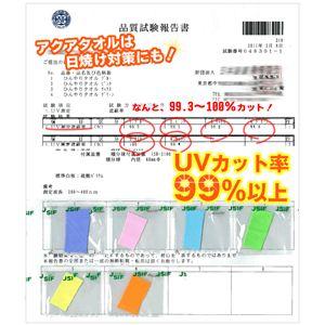 AQUA(アクア) ひんやりタオル SUPER COOL TOWEL(スーパー クール タオル) Lサイズ オレンジ 2個セット