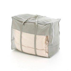 フランス産ホワイトダック90%使用の高級羽毛布団 アイボリー