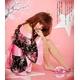 セクシー☆花柄着物 コスチュームセット/コスプレ/コスチューム/衣装/和服/花魁/z132-2 - 縮小画像2