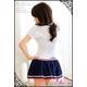 コスプレ 2011新作 女子高生 ミニスカ セーラー服 コスチューム3点セット - 縮小画像3