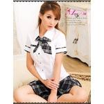 コスプレ 2011新作 アキバ系 女子高生 セーラー服 コスチューム3点セット