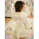 コスプレ 2011年新作 サテンの着物風ドレス♪着物・帯・パンツの3点set - 縮小画像3