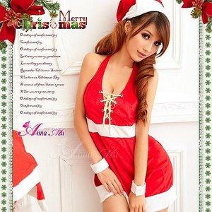 【クリスマスコスプレ】サンタクロースコスプレセット/コスプレ/コスチューム/衣装/s008