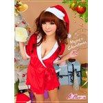 【クリスマスコスプレ】サンタクロースコスプレセット/コスプレ/コスチューム/衣装/s021